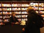 Signing Sarah's book! (Photo credit: Susannah Leake)